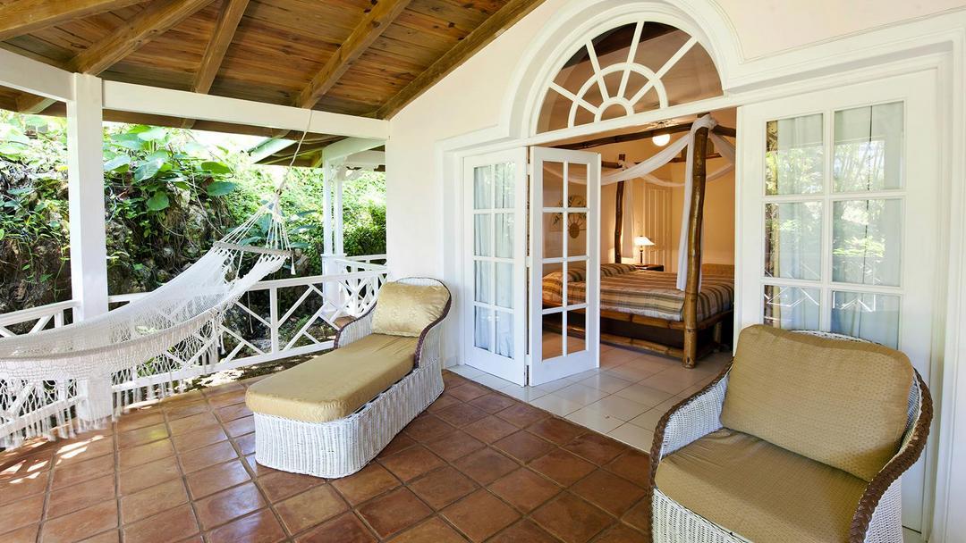 Hotel Villa Serena in Las Galeras on the Samana peninsula