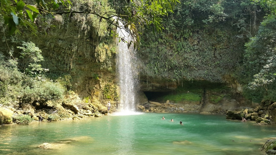 Salta de Socoa, another waterfall in the Dominican Republic