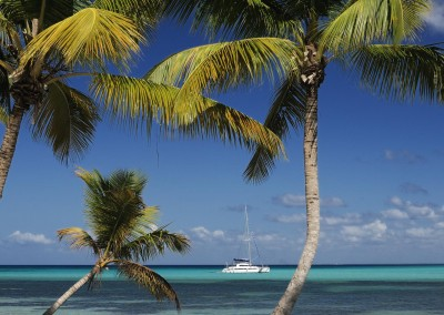Day Trips by Catamaran are a perfect way to enjoy the Caribbean paradise in the Dominican Republic