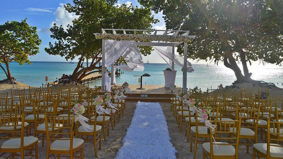 Beach Ceremony at Dreams Dominicus La Romana