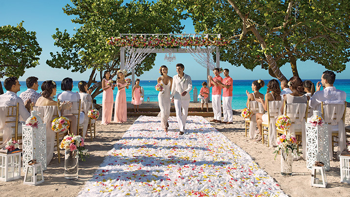 Destination Wedding at Dreams Dominicus La Romana