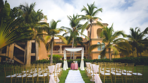 Colonial Garden - Destination Wedding