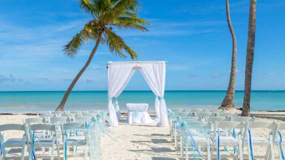 Tropical Beach Ceremony - Destination Wedding