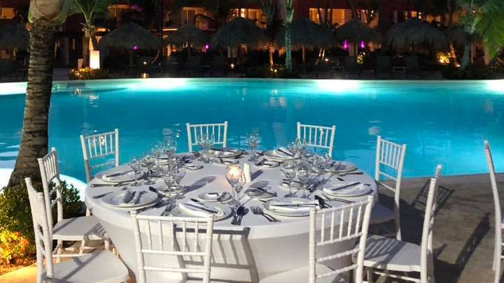 Incentive - Pool Dinner at Hotel Breathless, Punta Cana