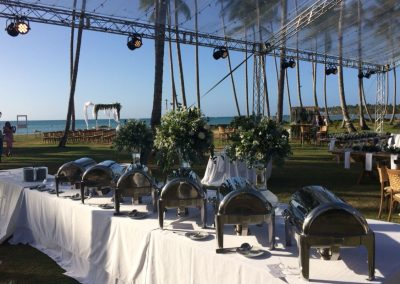 Catering at the beach