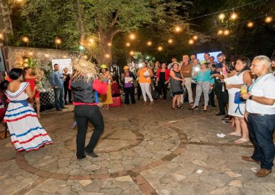 Outdoor event in the Colonial Zone in Santo Domingo
