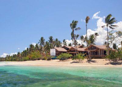 Restaurante en la playa en Las Terrenas