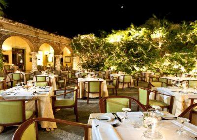 Restaurante Colonial en Santo Domingo