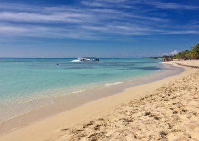 Playa en Saona