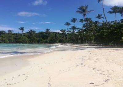 Playa en Las Galeras