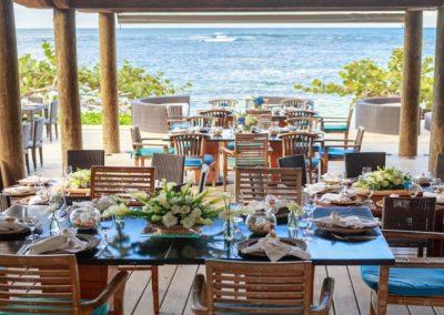Restaurante de la playa en Las Terrenas