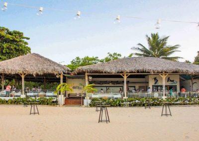 Restaurante a la playa
