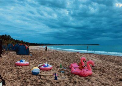 Viajes de Incentivo en la República Dominicana por Dominican Expert - Camping en la playa